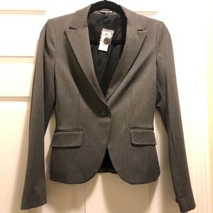 NWT Express grey women's dress suit